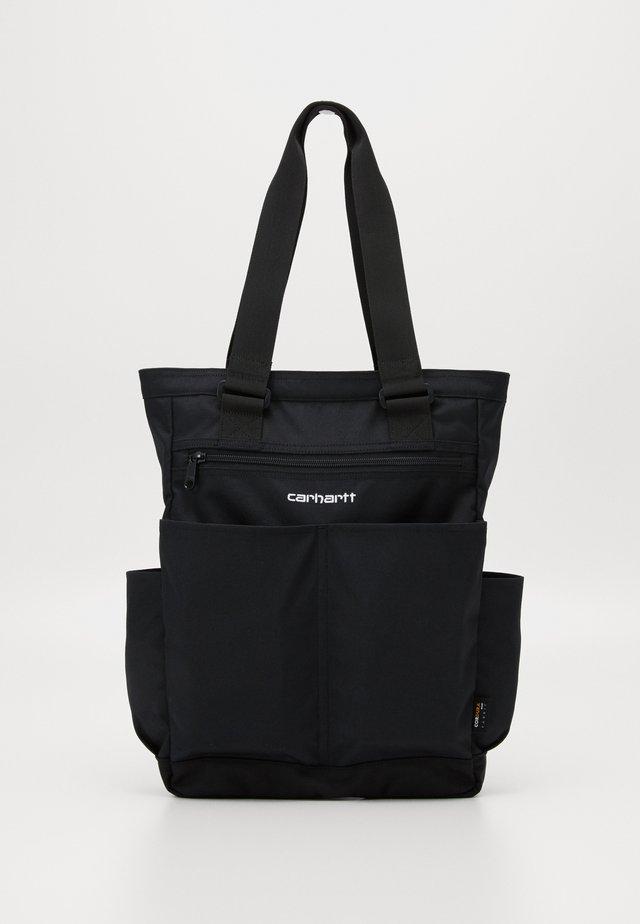 PAYTON KIT BAG - Shoppingväska - black / white