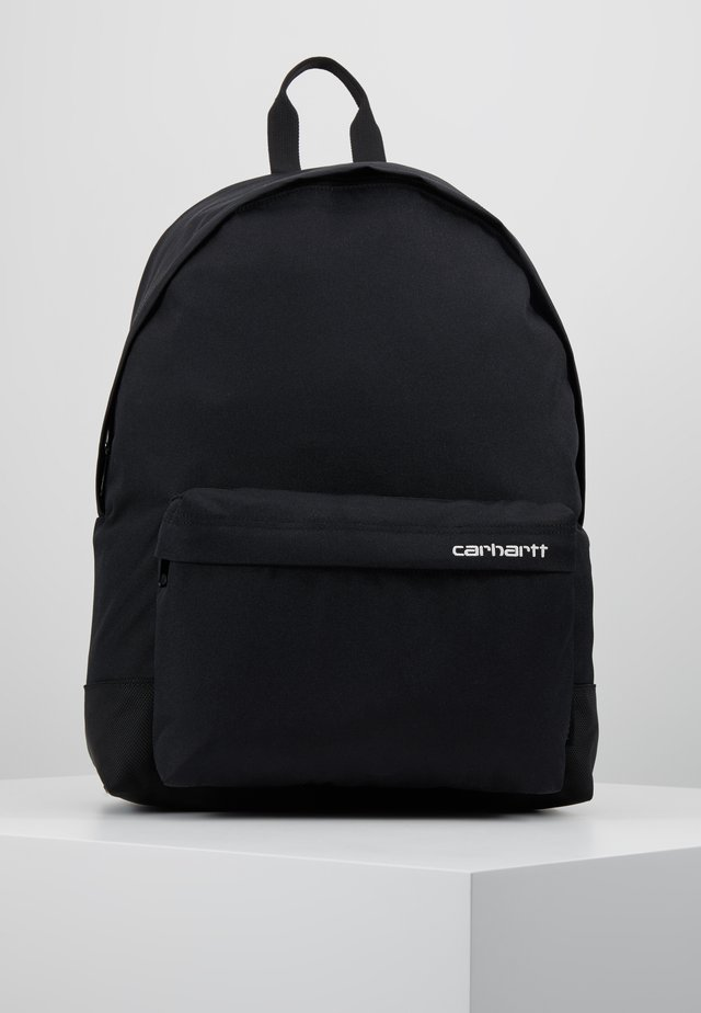 PAYTON BACKPACK - Reppu - black/white