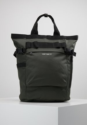 PAYTON CARRIER BACKPACK - Rucksack - cypress/white
