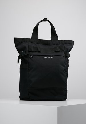 PAYTON CARRIER BACKPACK - Rucksack - black/white