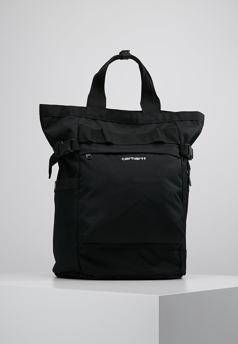 Carhartt WIP - PAYTON CARRIER BACKPACK - Rucksack - black/white