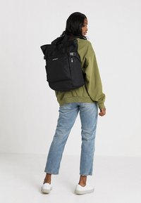 Carhartt WIP - PAYTON CARRIER BACKPACK - Rucksack - black/white - 5