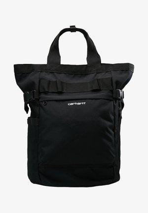PAYTON CARRIER BACKPACK - Batoh - black/white