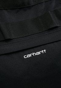 Carhartt WIP - PAYTON CARRIER BACKPACK - Batoh - black/white - 7