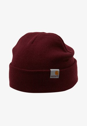 STRATUS HAT LOW - Lue - merlot