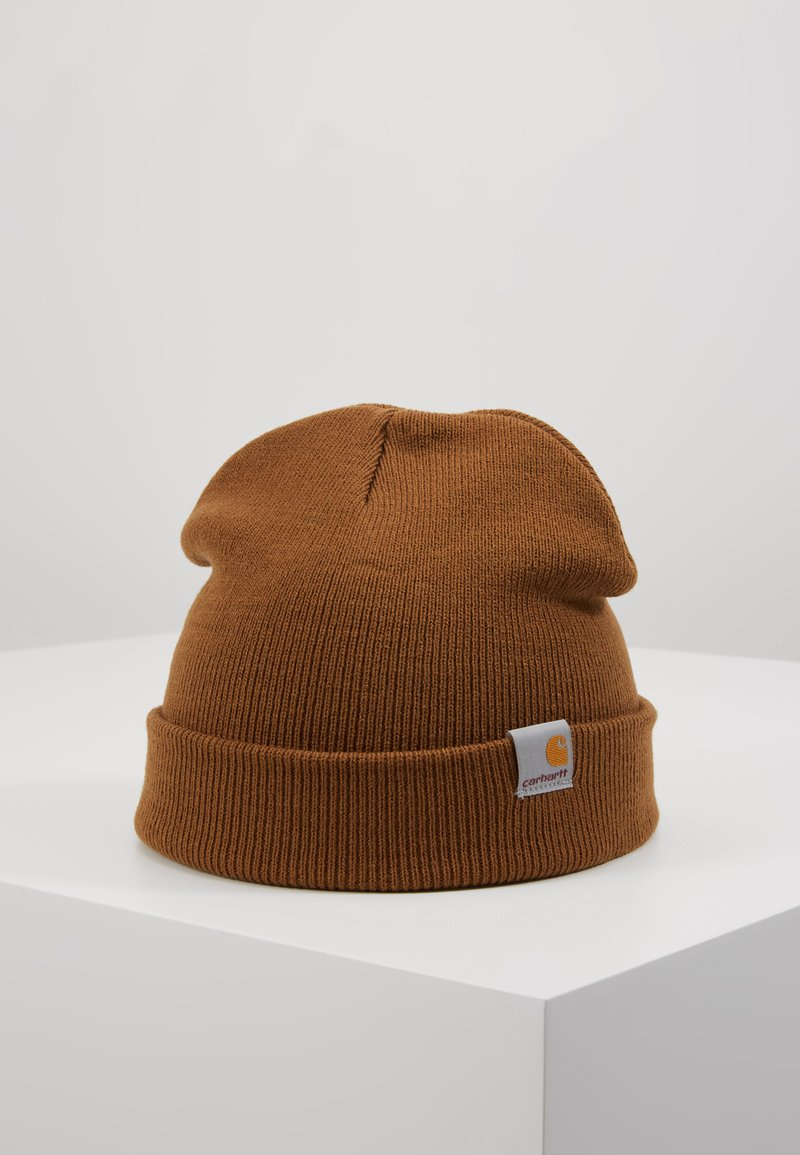 Carhartt WIP - STRATUS HAT LOW - Mütze - hamilton brown