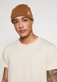 Carhartt WIP - STRATUS HAT LOW - Mütze - hamilton brown - 1