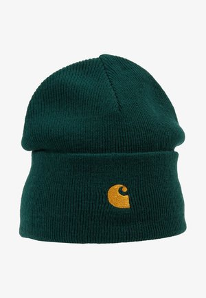 CHASE BEANIE - Lue - dark fir/gold