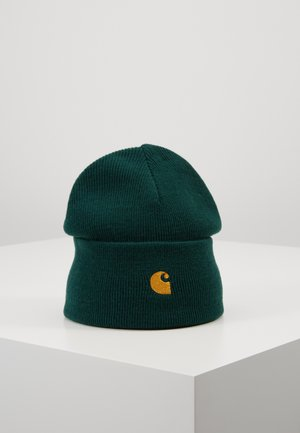 CHASE BEANIE - Berretto - dark fir/gold