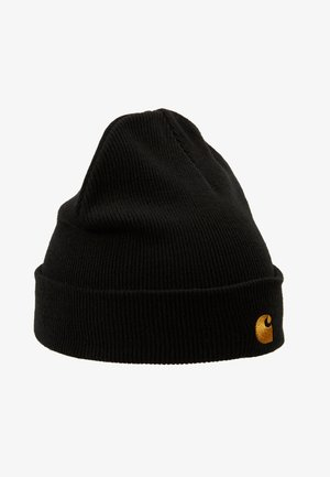 CHASE BEANIE - Pipo - black/gold