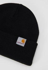Carhartt WIP - STRATUS HAT LOW - Beanie - black - 2