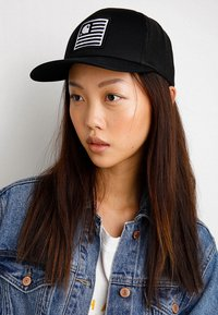 Carhartt WIP - STATE PATCH TRUCKER - Keps - black - 4