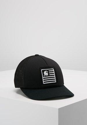 STATE PATCH TRUCKER - Casquette - black