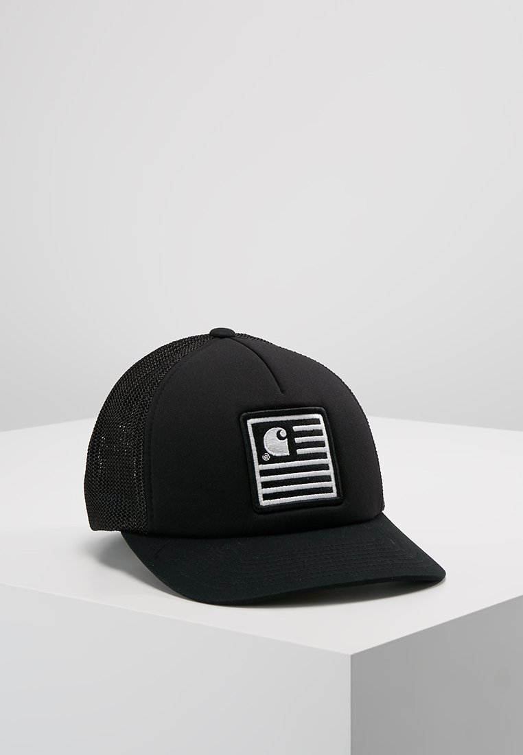 Carhartt WIP - STATE PATCH TRUCKER - Cap - black