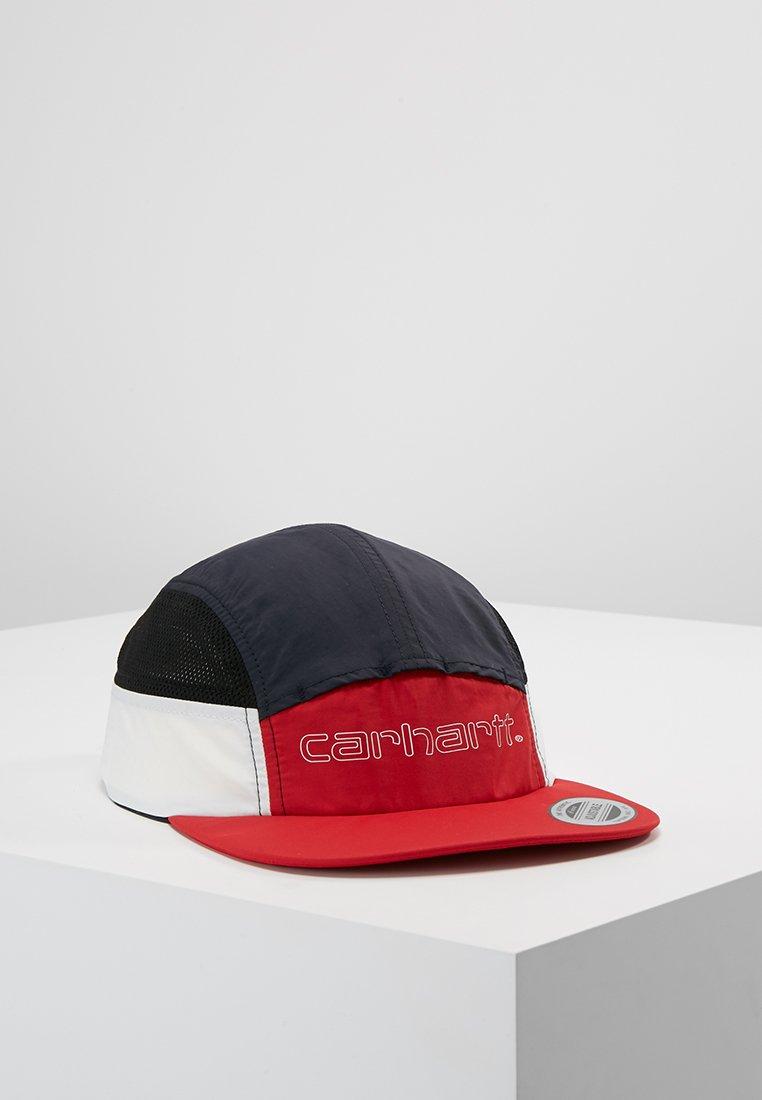 Carhartt WIP - TERRACE - Cap - cardinal/dark navy/white/black