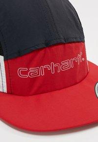 Carhartt WIP - TERRACE - Cap - cardinal/dark navy/white/black - 6