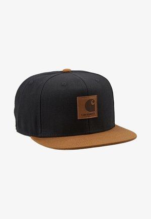LOGO BICOLORED - Keps - black/hamilton brown