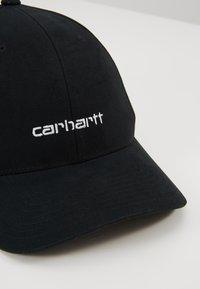 Carhartt WIP - SCRIPT FLEXFIT  - Lippalakki - black - 6