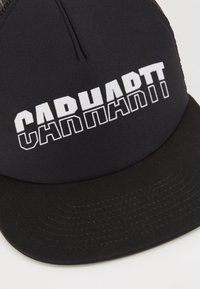 Carhartt WIP - DISTRICT TRUCKER CAP - Caps - black/white - 2