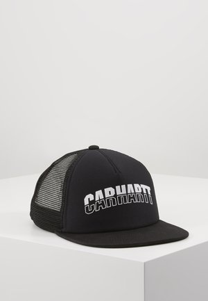 DISTRICT TRUCKER CAP - Caps - black/white