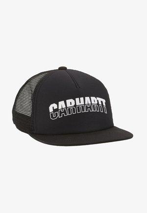 DISTRICT TRUCKER CAP - Cappellino - black/white
