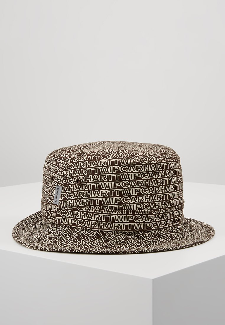 Carhartt WIP - TYPO BUCKET HAT - Hut - tobacco