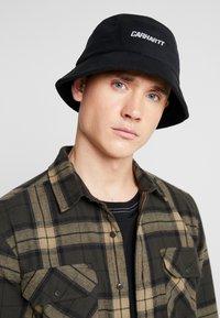 Carhartt WIP - BEAUFORT BUCKET HAT  - Sombrero - black/reflective - 1