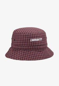 Carhartt WIP - ALISTAIR BUCKET HAT - Hat - black/etna red - 5