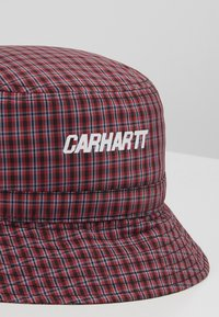 Carhartt WIP - ALISTAIR BUCKET HAT - Hat - black/etna red - 6