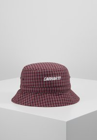 Carhartt WIP - ALISTAIR BUCKET HAT - Hat - black/etna red - 0