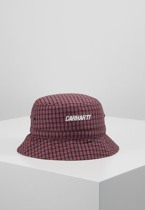 ALISTAIR BUCKET HAT - Hat - black/etna red