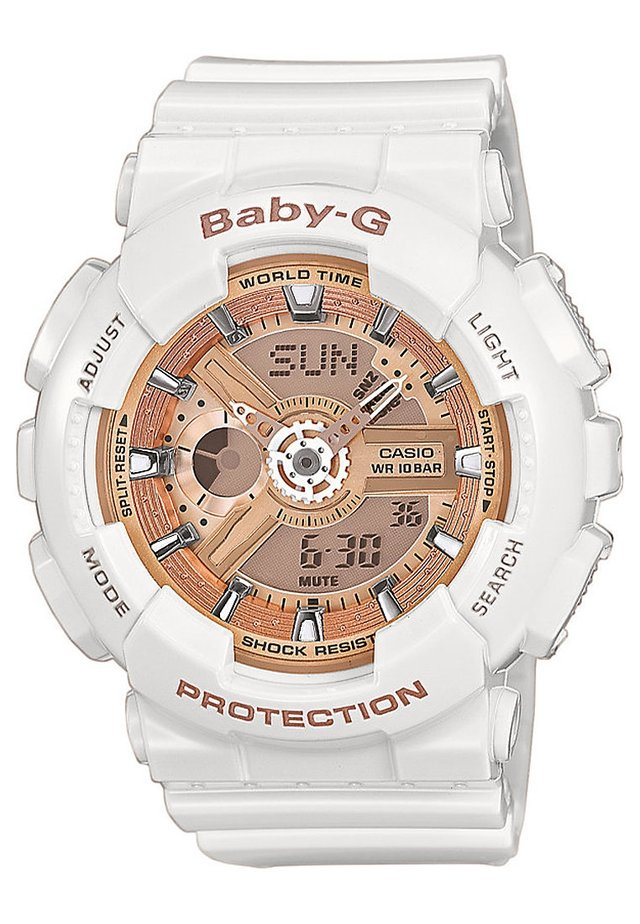 BABY-G - Kronografklokke - weiß