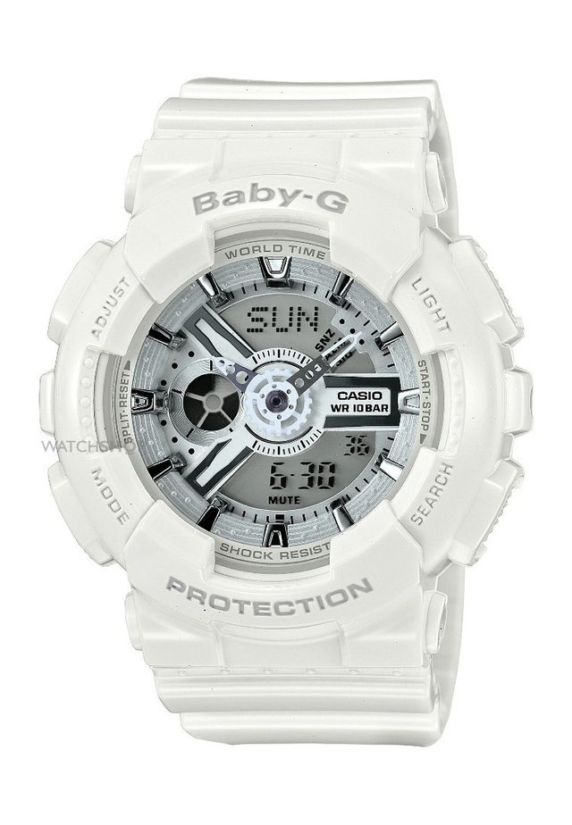 BABY-G - Chronograph - wit