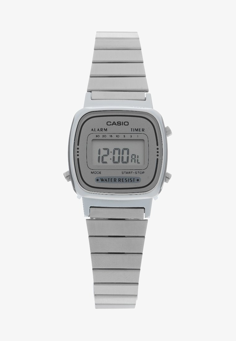 Casio - Montre à affichage digital - silber