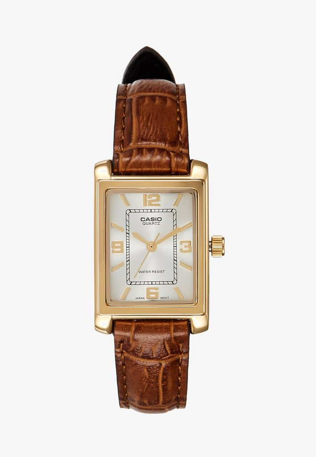 Horloge - brown/gold-coloured