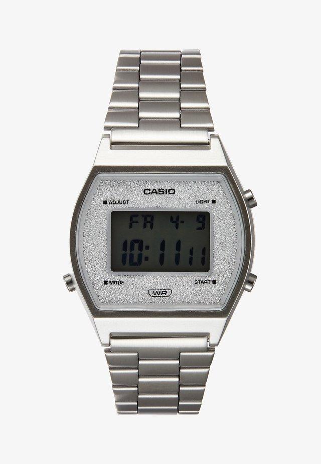 B640WDG-7EF - Digitaal horloge - silber-coloured