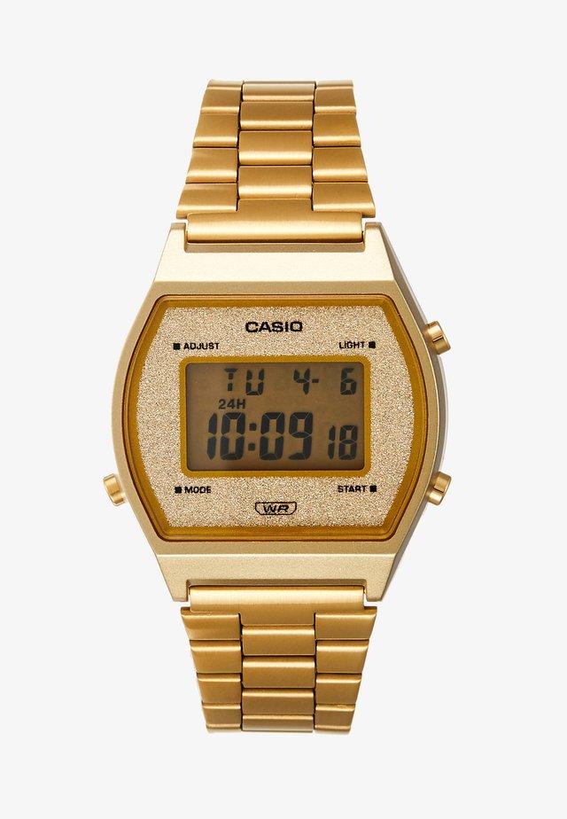 B640WGG-9EF - Montre à affichage digital - gold-coloured