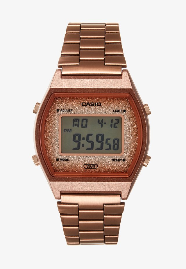 Digitaal horloge - rose gold-coloured