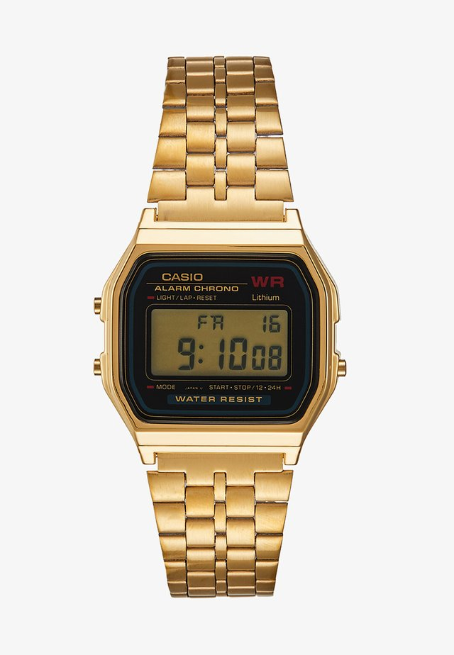 COLLECTION RETRO - Digitaal horloge - goldfarben