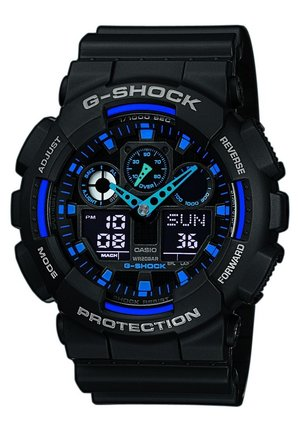 G-SHOCK - Chronograph watch - zwart