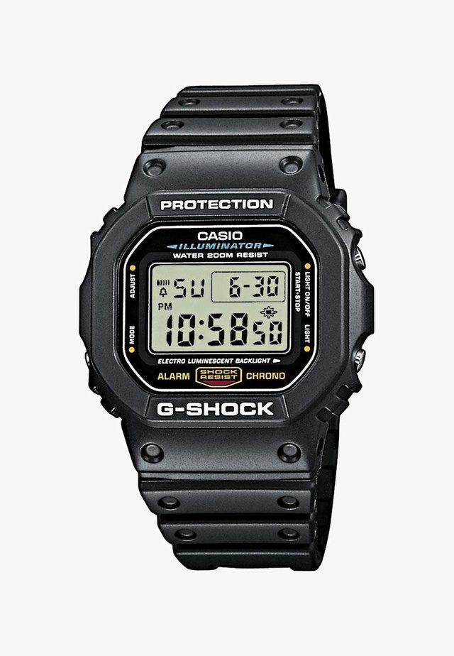 TIMECATCHER - Digitaluhr - zwart