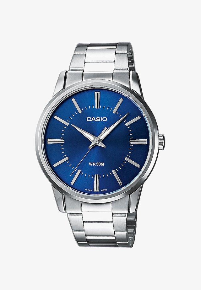 Watch - silberfarben/blau