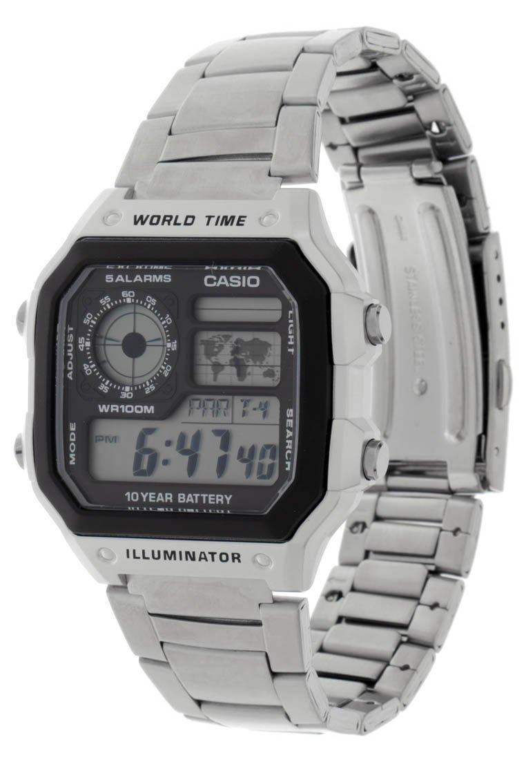 Casio - Digital watch - silver