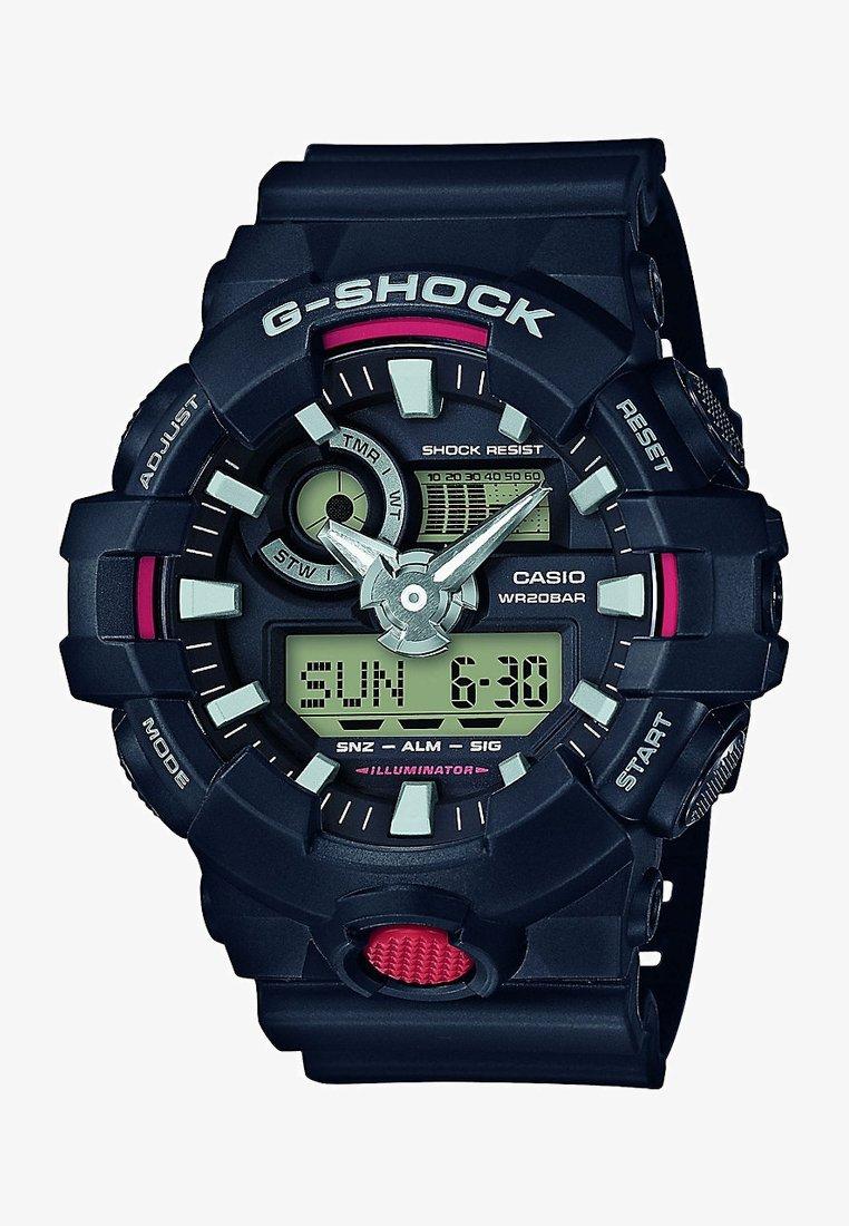 G-shock - CASIO HERRENUHR G-SHOCK CLASSIC GA-700-1AER - Reloj - schwarz