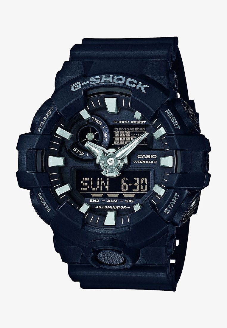 G-SHOCK - G-SHOCK CLASSIC - Hodinky - schwarz