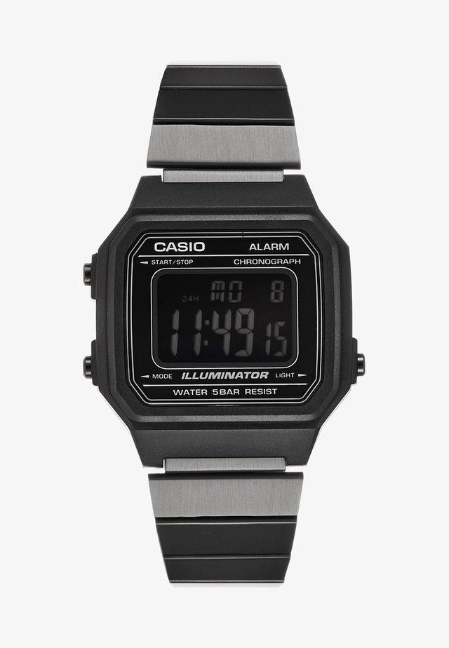 Digitaluhr - schwarz