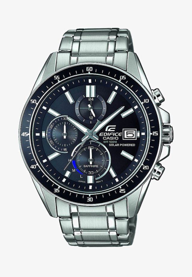 EDIFICE PREMIUM EFS - Chronograph watch - silver-coloured