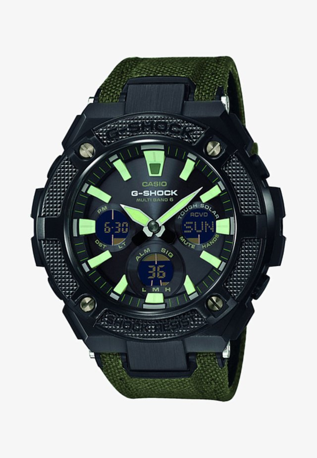 Chronograph watch - olive