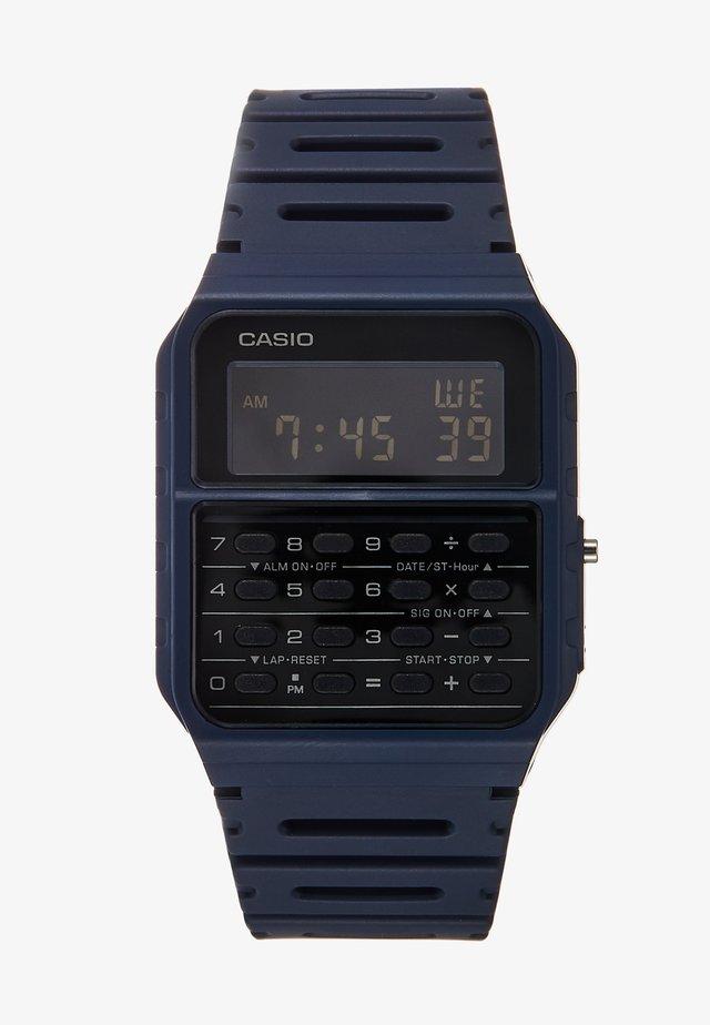 CA-53WF DIGITAL VINTAGE - Digital watch - blue