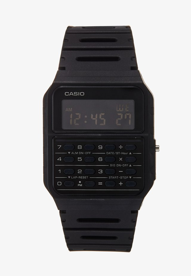 CA-53WF DIGITAL VINTAGE - Digital watch - black